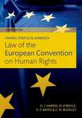 Libro in inglese Harris, O'Boyle, and Warbrick Law of the European Convention on Human Rights David Harris Michael O'Boyle Edward Bates