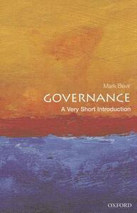 Governance: A Very Short Introduction - Mark Bevir - cover