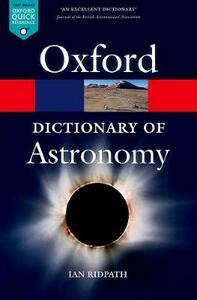 A Dictionary of Astronomy - Ian Ridpath - cover
