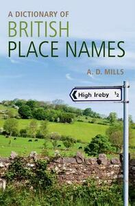 A Dictionary of British Place-Names - cover
