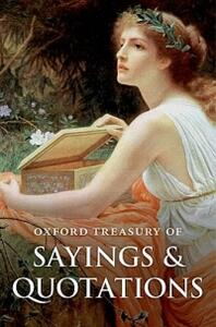 Oxford Treasury of Sayings and Quotations - cover