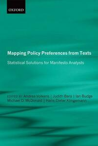 Mapping Policy Preferences from Texts: Statistical Solutions for Manifesto Analysts - cover