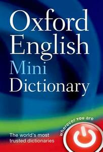 Oxford English Mini Dictionary - Oxford Dictionaries - cover