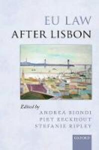 EU Law after Lisbon - cover