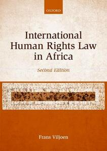International Human Rights Law in Africa - Frans Viljoen - cover