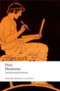 Theaetetus - Plato - cover