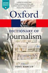A Dictionary of Journalism - Tony Harcup - cover