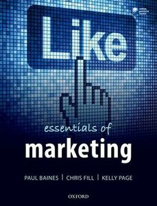 Libro inglese Essentials of Marketing Paul Baines , Chris Fill , Kelly Page