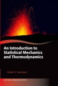 An Introduction to Statistical Mechanics and Thermodynamics - Robert H. Swendsen - cover