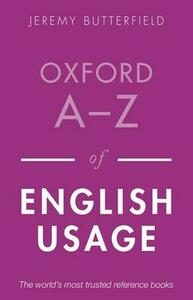 Oxford A-Z of English Usage - cover