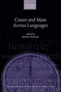 Count and Mass Across Languages - cover