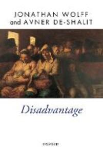 Disadvantage - Jonathan Wolff,Avner De-Shalit - cover