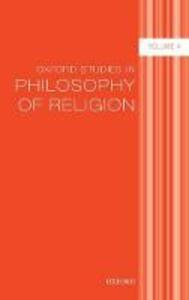 Oxford Studies in Philosophy of Religion Volume 4 - cover