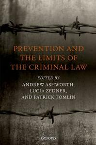 Prevention and the Limits of the Criminal Law - cover