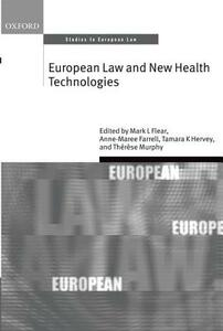 European Law and New Health Technologies - cover