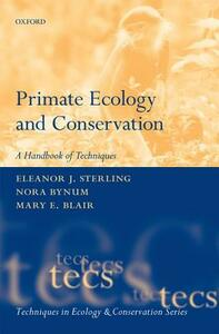 Primate Ecology and Conservation - cover