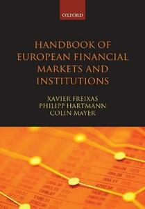 Handbook of European Financial Markets and Institutions - cover