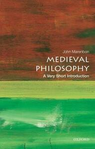 Medieval Philosophy: A Very Short Introduction - John Marenbon - cover