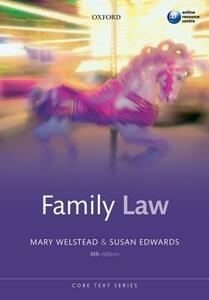 Family Law - Mary Welstead,Susan Edwards - cover