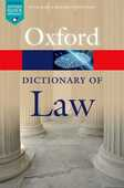 Libro in inglese A A Dictionary of Law