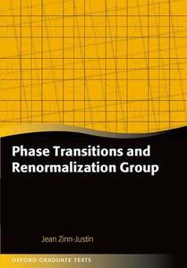 Phase Transitions and Renormalization Group - Jean Zinn-Justin - cover
