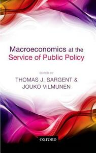 Macroeconomics at the Service of Public Policy - cover