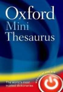 Oxford Mini Thesaurus - Oxford Dictionaries - cover