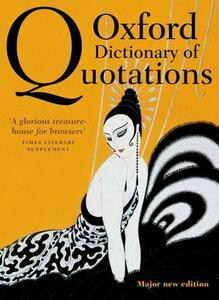 Oxford Dictionary of Quotations - cover