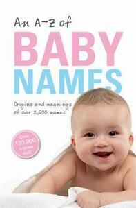 An A-Z of Baby Names - Patrick Hanks - cover