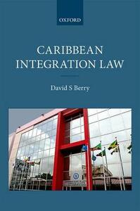 Caribbean Integration Law - David S. Berry - cover