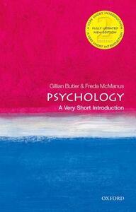 Psychology: A Very Short Introduction - Gillian Butler,Freda McManus - cover