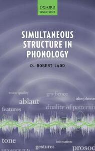 Simultaneous Structure in Phonology - D. Robert Ladd - cover