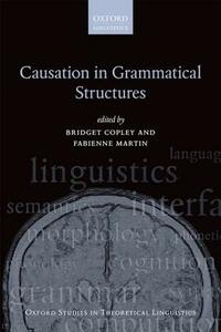 Causation in Grammatical Structures - cover