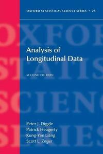 Analysis of Longitudinal Data - Peter J. Diggle,Patrick J. Heagerty,Kung-Yee Liang - cover