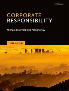 Corporate Responsibility - Michael Blowfield,Alan Murray - cover