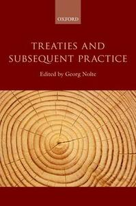 Treaties and Subsequent Practice - cover