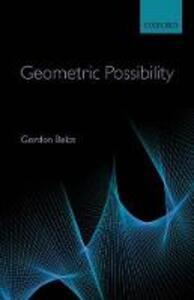 Geometric Possibility - Gordon Belot - cover