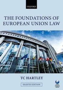 The Foundations of European Union Law - Trevor Hartley - cover