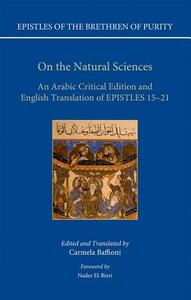 On the Natural Sciences: An Arabic critical edition and English translation of Epistles 15-21 - Carmela Baffioni - cover