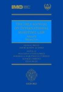 The IMLI Manual on International Maritime Law Volume II Shipping Law - cover