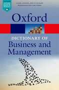 Libro in inglese A Dictionary of Business and Management