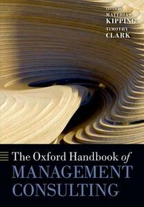 The Oxford Handbook of Management Consulting - cover