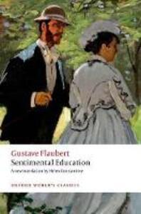 Sentimental Education - Gustave Flaubert - cover