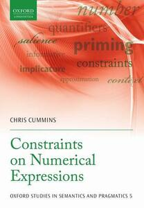 Constraints on Numerical Expressions - Chris Cummins - cover