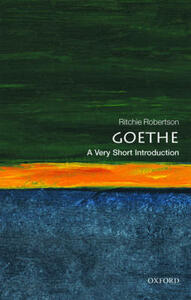 Goethe: A Very Short Introduction - Ritchie Robertson - cover