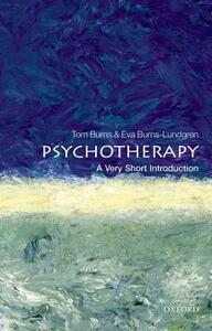 Psychotherapy: A Very Short Introduction - Tom Burns - cover
