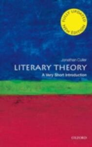 Literary Theory: A Very Short Introduction - Jonathan Culler - cover