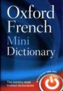 Oxford French Mini Dictionary - Oxford Dictionaries - cover
