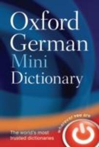 Oxford German Mini Dictionary - Oxford Dictionaries - cover