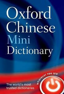 Oxford Chinese Mini Dictionary - Oxford Dictionaries - cover